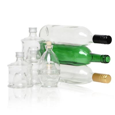 Stapelbare flessen